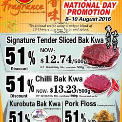 Fragrance Bak Kwa: 51% NDP offer Extended