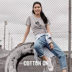 City Square Mall: Receive a free Graphic Tee with selected full-price Denim Jeans Purchase at Cotton On