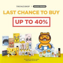 THE FACE SHOP: Get Limited Edition Kakao Friends Products at up to 40% OFF