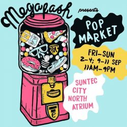 Megafash: Pop Market featuring over 60 makers ranging from clothing and homeware to accessories and lifestyle products