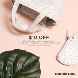 Gracious Aires: Like & Share this post to receive $10 off