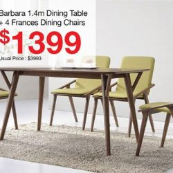 Picket & Rail: National Day Sale Up to 51% OFF All Wood Dining Sets