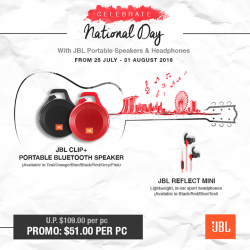 JBL: National Day Promotions Extended