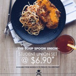 The Soup Spoon: Student Union Set @ only $6.90*!