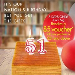 Times bookstores: Receive $5 Voucher with any purchase of $51 and above