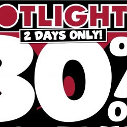 Spotlight: 30% OFF Storewide for 2 Days Only on Bedlinen & Bedding, Party Supplies, Home Decor and more