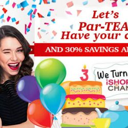 iShopChangi: 3rd Anniversary Sale with Daily Deals --- HUGE savings on Beauty Products from SK-II, Sulwhasoo, Elizabeth Arden & More!