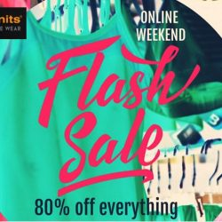 bods.bodynits: Massive Online Weekend Flash Sale 80% OFF Everything
