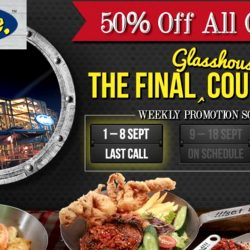 Fish & Co: 50% OFF Any Combo at Glasshouse Park Mall