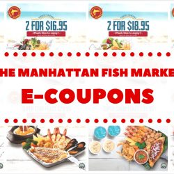 The Manhattan FISH MARKET: Special Coupon Deals for Main Course & Set Meals