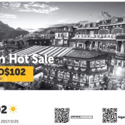 Tigerair: Taiwan Hot Sale One Way All-in Fares to Taipei from $102