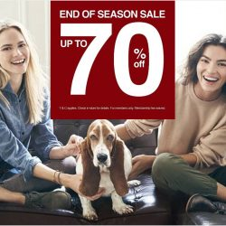 Hush Puppies: End Of Season Sale Up to 70% off Selected items
