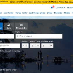 Expedia: Coupon Code for Extra 12% OFF Hotel Bookings with HSBC Cards