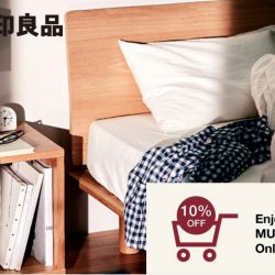 MUJI: Member's Week - 10% off your purchases with minimum $100