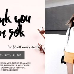 The Closet Lover: Coupon Code for $5 OFF Per Item