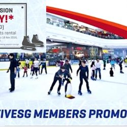 The Rink: Flash Your ActiveSG App & Enjoy 2-Hour Admission with Skate Boots Rental at only $7!