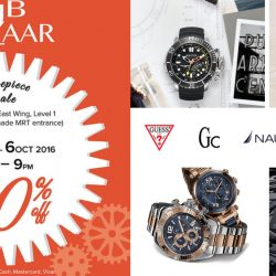 FJ Benjamin: Timepiece Sale Up to 80% OFF Guess, GC, Nautica and Victorinox Watches