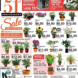Far East Flora: 51st Anniversary Sale Up to 30% OFF