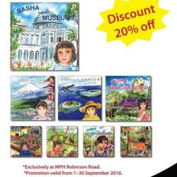 MPH: 20% off Sasha Series books Exclusively at MPH Robinson Road