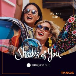 Tangs: Enjoy more than 20% off selected items at Sunglass Hut