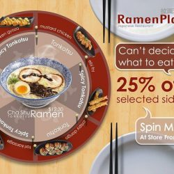 RamenPlay: Limited edition Cha Shu Spicy Tonkotsu Ramen + 25% off selected sides with every order