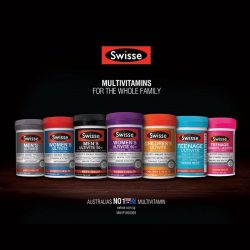 Watsons: 25% OFF Swisse Multivite Products