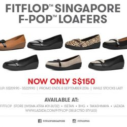 FitFlop: F-POP™ LOAFERS Promo