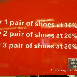 Dr Kong: Shoes Promotion For Members