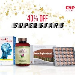 GNC: Superstars of the month – Now at 40% off