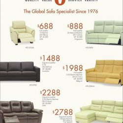 Sofa Outlet: Facebook Exclusive - Enjoy Up to 45% OFF Selected Models