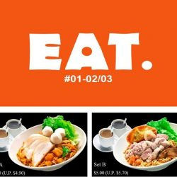 Paya Lebar Square: Exclusive Opening Promotions at EAT