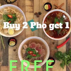 Madam Saigon: Buy 2 Pho Get 1 FREE