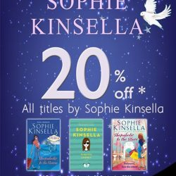 MPH: 20% off all titles by Sophie Kinsella in September