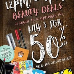 Sasa: Fantastic Beauty Deals at 50% OFF Selected Brands at Waterway Point