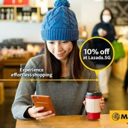 Maybank: Enjoy 10% off when you spend a minimum of S$75 with Maybank Cards at Lazada