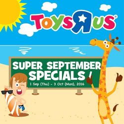 Babies'R'Us: Super September Specials Start Today