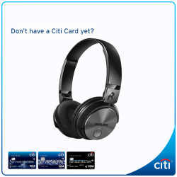 Citibank: Exclusive Deals at Comex 2016