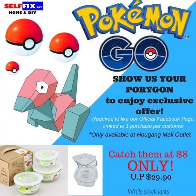 Selffix DIY: Show your Porygon and you may purchase Homio Glassware
