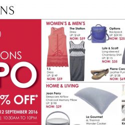 Singapore Expo: Robinsons Expo Up to 80% OFF