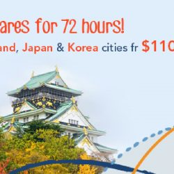 ZUJI: All Flights to Thailand, Korea and Japan on Sale!