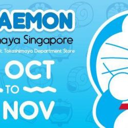 Takashimaya: First and exclusive Promotion of Doraemon Merchandise in Singapore