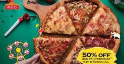 Pezzo Pizza: 50% OFF Second Pan Purchase on Weekdays