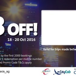 ComfortDelGro: Coupon Code for $8 OFF Your Taxi Fare After 10pm