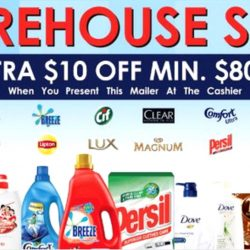 Unilever: Massive Warehouse Sale Up to 70% OFF Ben & Jerry's, Magnum, Dove, Lux, Vaseline & More!
