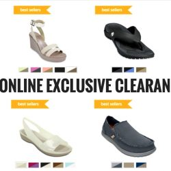 Crocs: Online Exclusive Clearance Sale Up to 50% OFF + Up to Additional 15% OFF