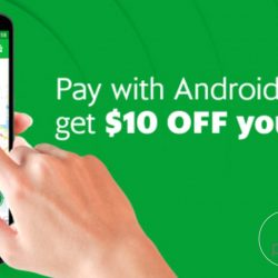 Grab: Coupon Code for $10 OFF All GrabCar & GrabTaxi Rides with Android Pay