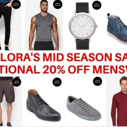 Zalora: Coupon Code for Additional 20% OFF Menswear at their Mid Season Sale!