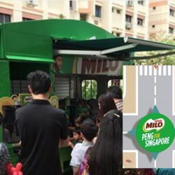 MILO Singapore: MILO Van will be at Bedok Mall This Friday!