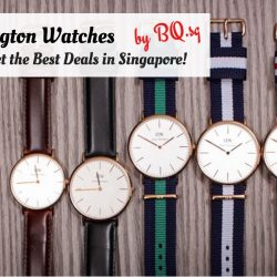 Daniel Wellington Watches: Where to Buy and Get the Best Deals in Singapore!