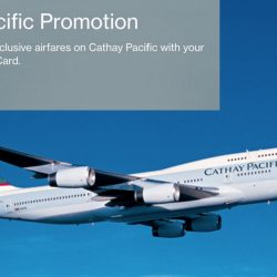 Cathay Pacific: Exclusive All-in Airfares to over 50 Destinations from $188 with Standard Chartered Cards